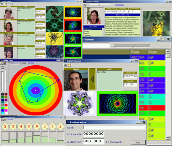 Radionic Software